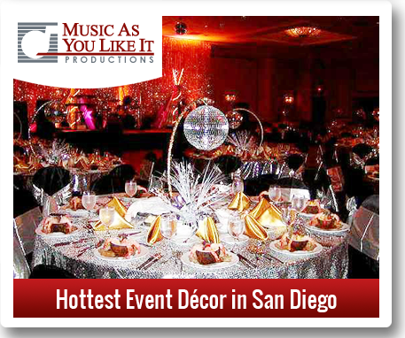 hottest event decor in san diego