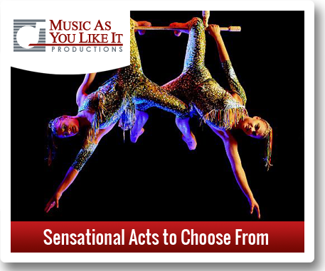 sensational acts to choose from