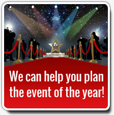 Send us an email & we can help you plan the party of the year!